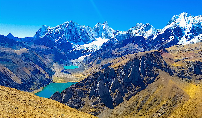 Cordillera Huayhuash Loop Trekking 10 Days Peru Summit